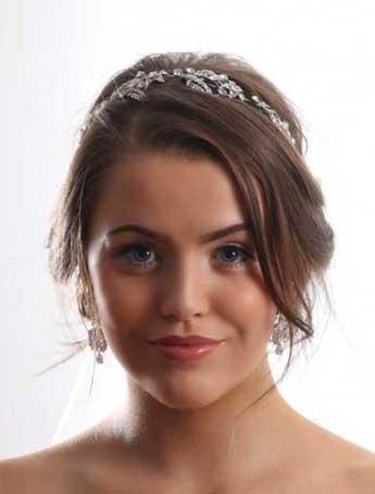 wedding tiara autumn