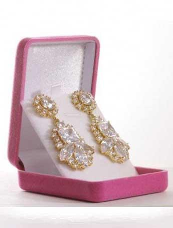 Glamorous 50's style earrings