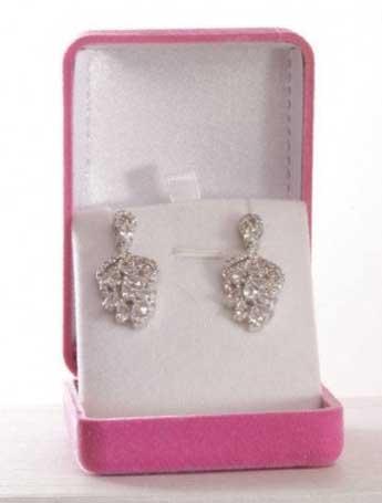Roseate chandelier earring