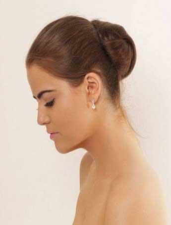 Silver retro earrings