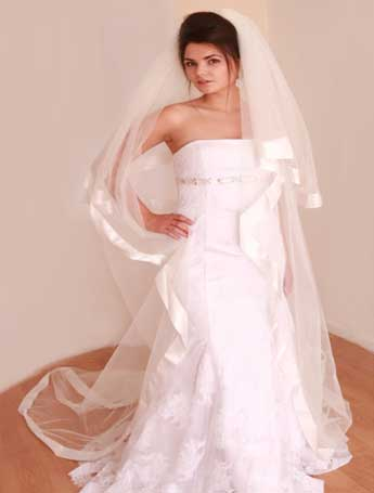 Collection Three - glamorous bridal look