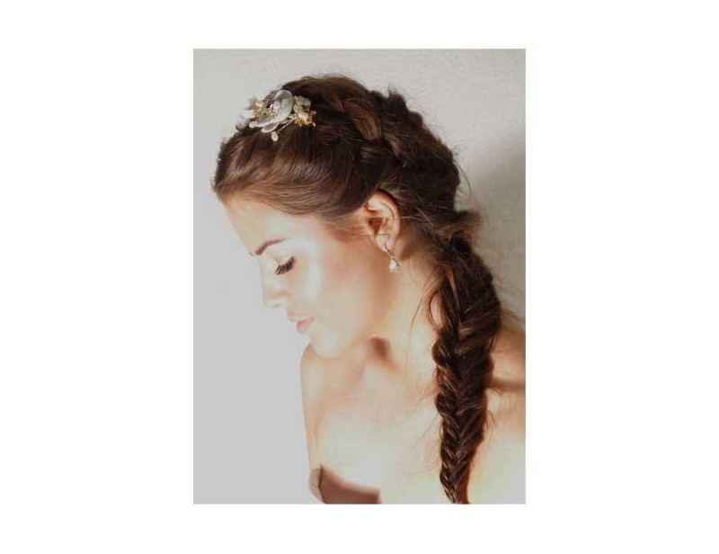 boho bridal look