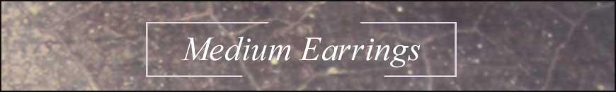 medium length earrings | marquise earrings