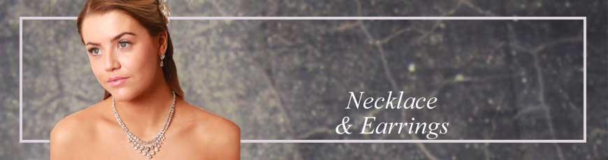 bridal necklace set | handmade necklace set